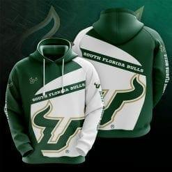 NCAA South Florida Bulls 3D Hoodie V1