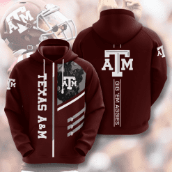 NCAA Texas A&M Aggies 3D Hoodie V2