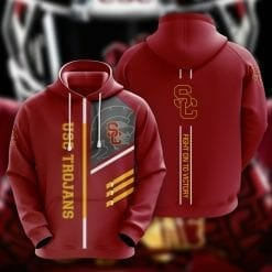 NCAA USC Trojans 3D Hoodie V2