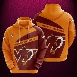 NCAA Virginia Tech Hokies 3D Hoodie V1