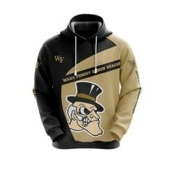 NCAA Wake Forest Demon Deacons 3D Hoodie V1