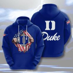 NCAA Duke Blue Devils 3D Hoodie V3