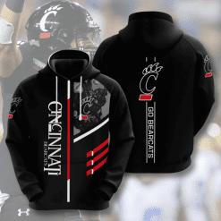 NCAA Cincinnati Bearcats 3D Hoodie V2