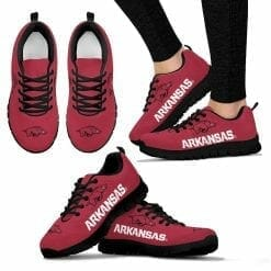 NCAA Arkansas Razorbacks Running Shoes