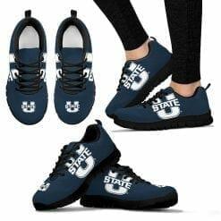 NCAA Utah State Aggies Running Shoes