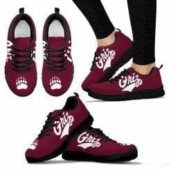 NCAA Montana Grizzlies Running Shoes