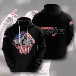 NCAA Cincinnati Bearcats 3D Hoodie V3