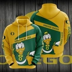 NCAA Oregon Ducks 3D Hoodie V1