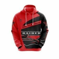 NCAA Texas Tech Red Raiders 3D Hoodie V1