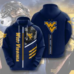 NCAA West Virginia Mountaineers 3D Hoodie V2