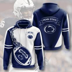 NCAA Penn State Nittany Lions 3D Hoodie V4