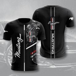Ford Mustang 3D T-Shirt V1