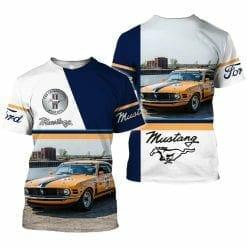 Ford Mustang 3D T-Shirt V3