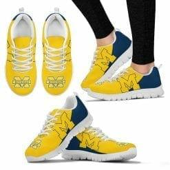 NCAA Michigan Wolverines Running Shoes V2