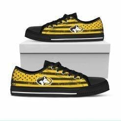 NCAA Michigan Tech Huskies Low Top Shoes