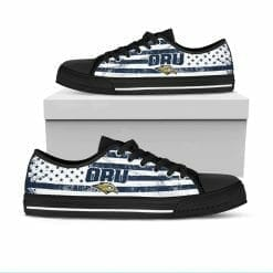 NCAA Oral Roberts Golden Eagles Low Top Shoes