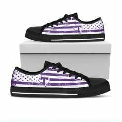NCAA Tarleton State Texans Low Top Shoes