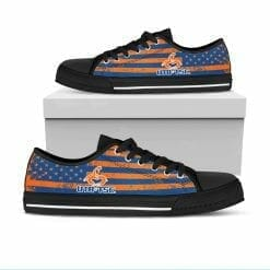 NCAA Texas Brownsville Scorpions Low Top Shoes