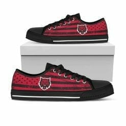NCAA Central Washington Wildcats Low Top Shoes