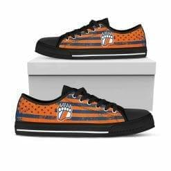 NCAA Coast Guard Academy Bears Low Top Shoes