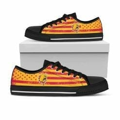 NCAA Ferris State Bulldogs Low Top Shoes