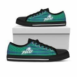 NCAA Florida Gulf Coast Eagles Low Top Shoes