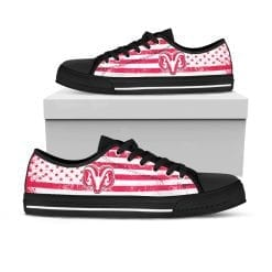 NCAA Fresno City College Rams Low Top Shoes