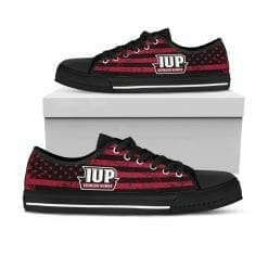 NCAA Indiana University of Pennsylvania Crimson Hawks Low Top Shoes