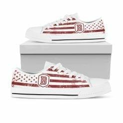NCAA Bradley Braves Low Top Shoes
