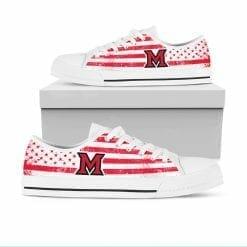 NCAA Miami University RedHawks Low Top Shoes