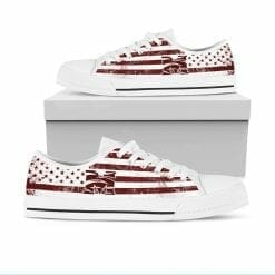 NCAA Morehouse Maroon Tigers Low Top Shoes