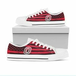 NCAA Nebraska Omaha Mavericks Low Top Shoes