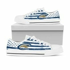 NCAA Clarion Golden Eagles Low Top Shoes