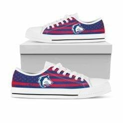 NCAA Colorado State Pueblo Thunderwolves Low Top Shoes
