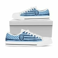 NCAA Columbia University Lions Low Top Shoes