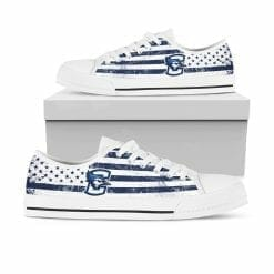NCAA Creighton Bluejays Low Top Shoes