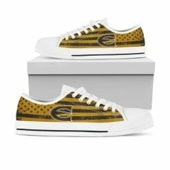 NCAA Emporia State Hornets Low Top Shoes