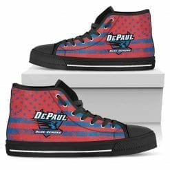 NCAA DePaul Blue Demons High Top Shoes