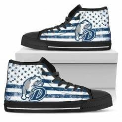 NCAA Drake Bulldogs High Top Shoes