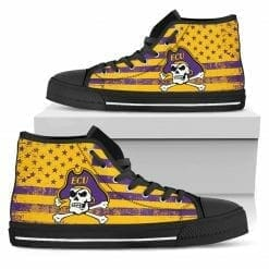 NCAA ECU Pirates High Top Shoes