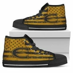 NCAA Emporia State Hornets High Top Shoes