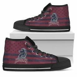NCAA Fairleigh Dickinson Knights High Top Shoes