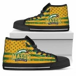 NCAA George Mason Patriots High Top Shoes