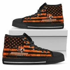 NCAA Georgetown College Tigers High Top Shoes
