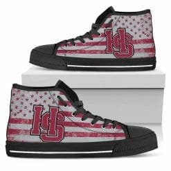 NCAA Hampden-Sydney College Tigers High Top Shoes
