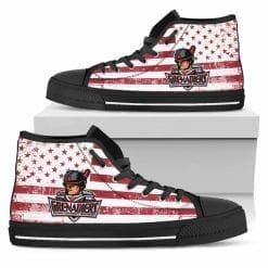 NCAA Indiana University Southeast Grenadiers High Top Shoes