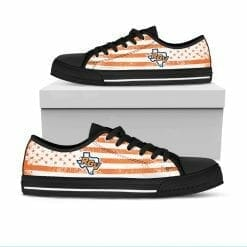 NCAA UTPA Broncs Low Top Shoes