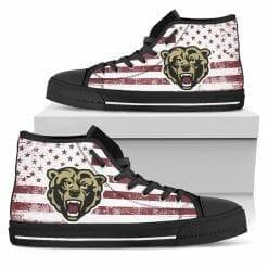 NCAA Kutztown Golden Bears High Top Shoes