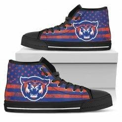 NCAA Louisiana College Wildcats High Top Shoes