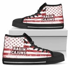 NCAA Louisiana Ragin' Cajuns High Top Shoes
